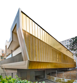 Alubond facade