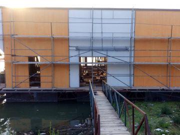 Alubond Fasada na Splavu
